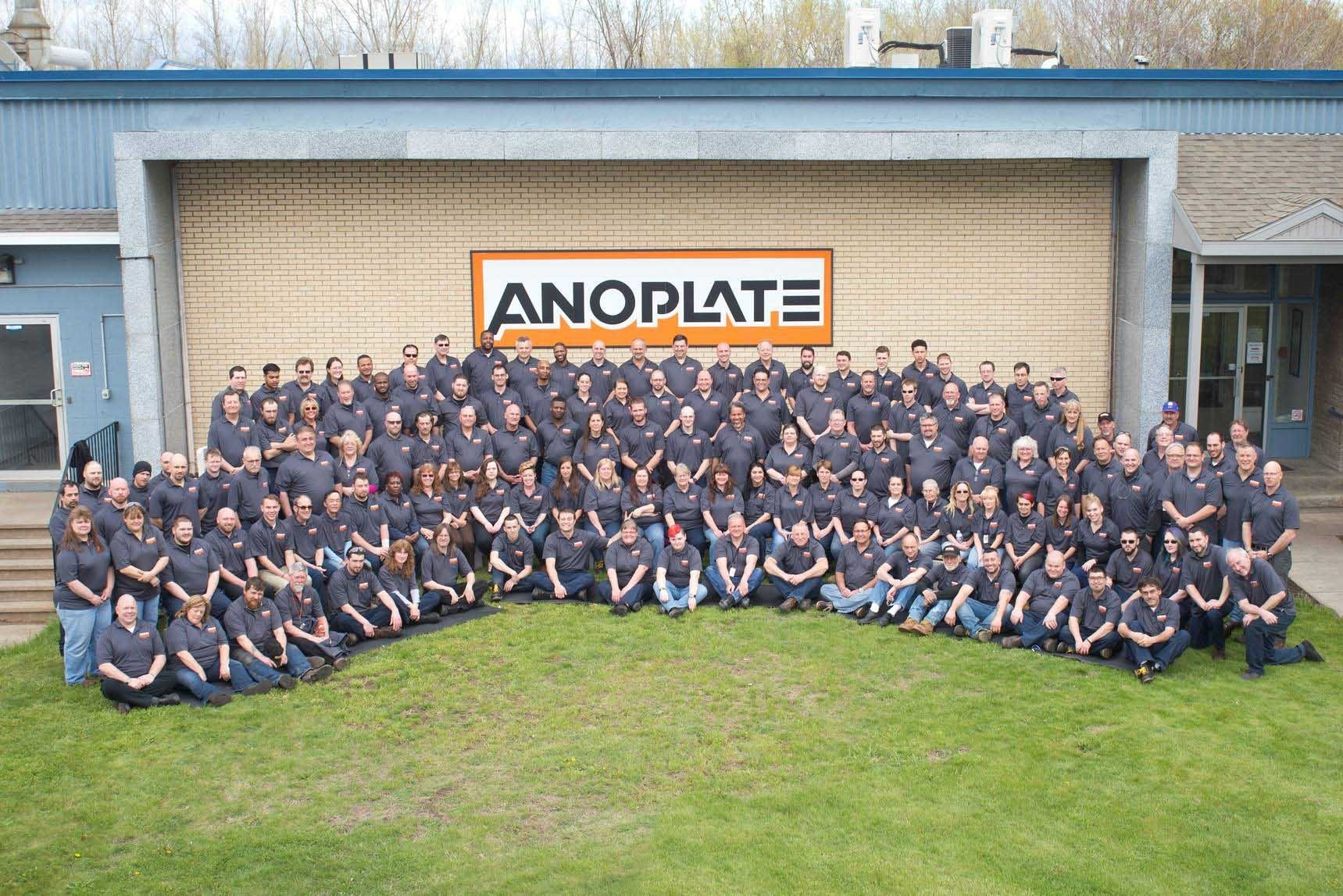 Anoplate team group photo